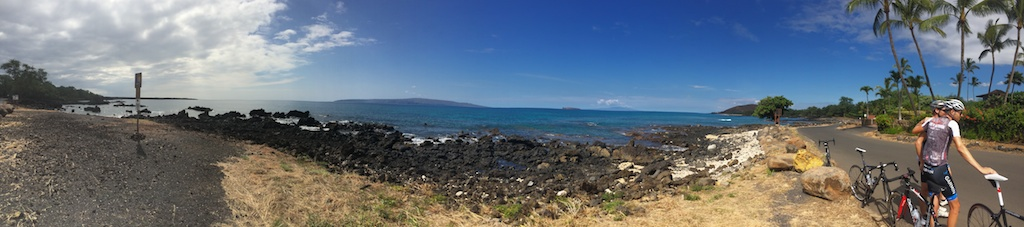 The view from Makena