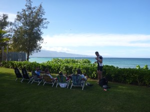 Post-ride relaxation in Paia