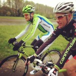 Riding with Ted King
