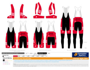 Bib Shorts & Knickers - Red